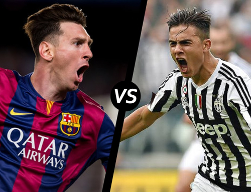 Juventus vs Barcelona … Dybala vs Messi