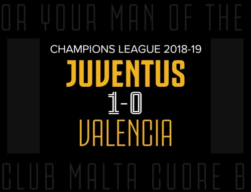 Man of the Match: Juventus 1-0 Valencia