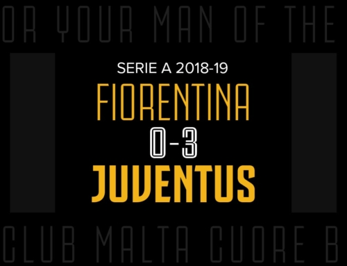 Man of the Match: Fiorentina 0-3 Juventus