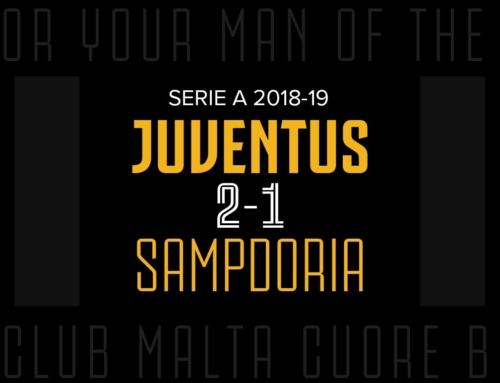 Man of the Match: Juventus 2-1 Sampdoria