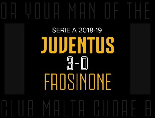 Man of the Match: Juventus 3-0 Frosinone