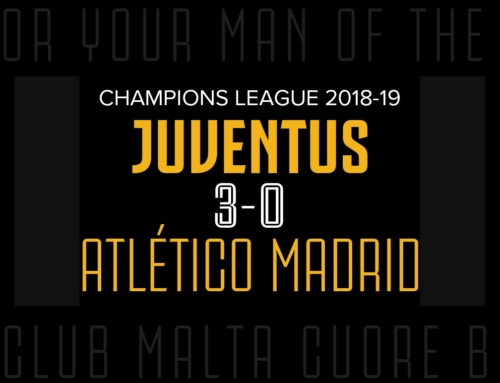Man of the Match: Juventus 3-0 Atlético Madrid