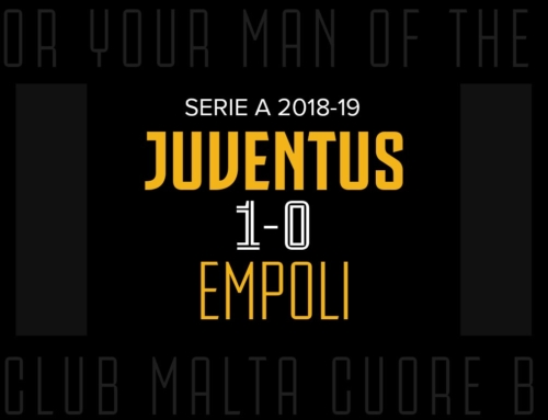 Man of the Match: Juventus 1-0 Empoli