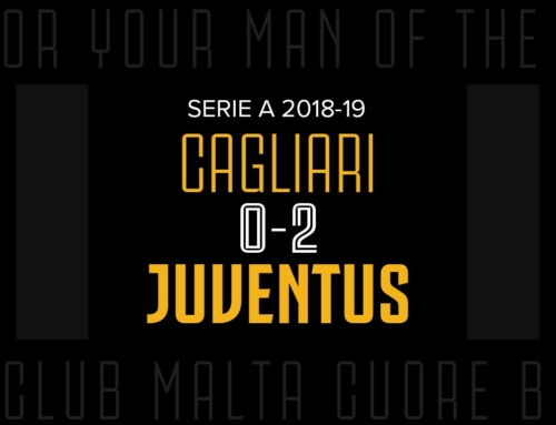 Man of the Match: Cagliari 0-2 Juventus