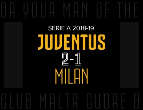 Man of the Match: Juventus 2-1 Milan