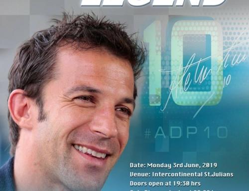 Reviżjoni tal-prezzijiet għall-attività ma' Alessandro Del Piero