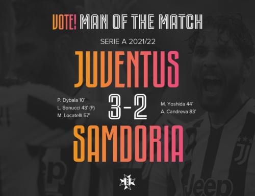 VOTE! Man of the Match: Juventus 3-2 Sampdoria