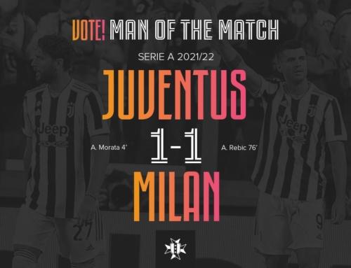 VOTE: Man of the Match: Juventus 1-1 Milan
